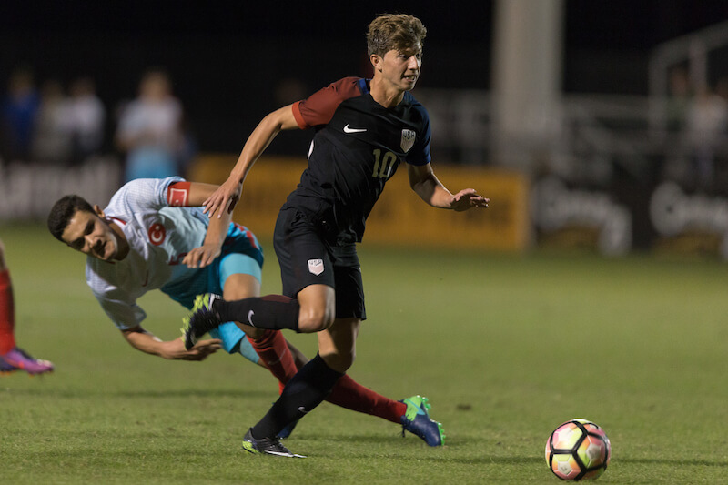 George Acosta & US Win First Game of CONCACAF U17 Championship