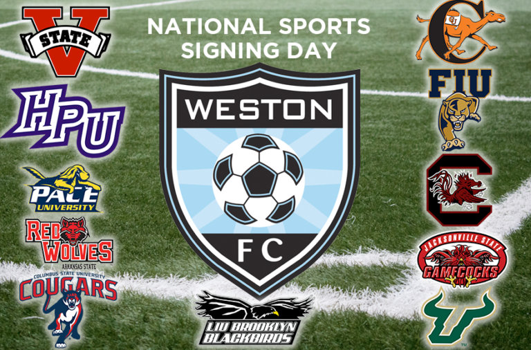 Congratulations to Our Athletes Signing Letters of Intent