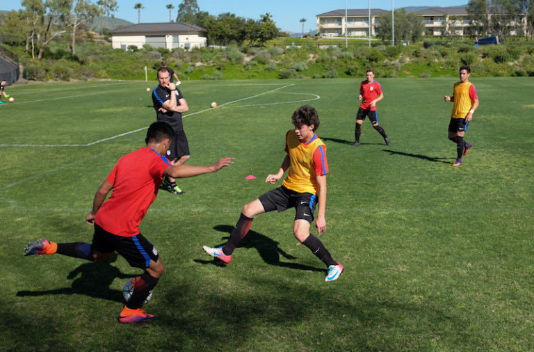 Noah Allen and Aran Perez from the U14 Boys DA have been called to the U15 BNT camp in Chula Vista