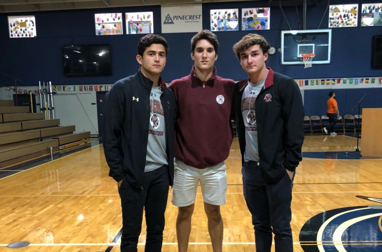 Three more Weston FC players commit to playing college soccer.