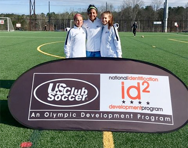 2005 Pre Academy Player invited to ID2 Training Camp