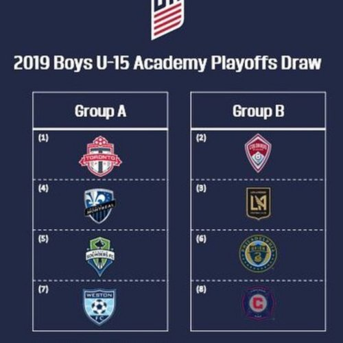 Our U15 and U19 boys DA will be participating in the playoffs in San Diego.