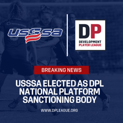 "THE DEVELOPMENT PLAYER LEAGUE ELECTS UNITED STATES SPECIALITY SPORTS ASSOCIATION (""USSSA"") AS NATIONAL SANCTIONING BODY"