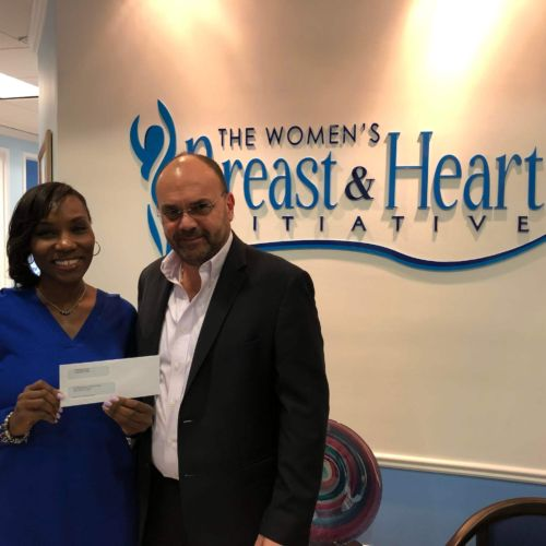 Weston FC's Pink October program raised $12,000 for The Women's Breast & Heart Initiative.