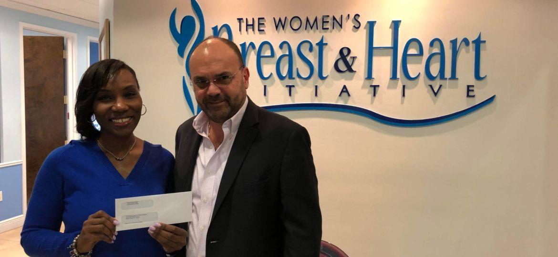Weston FC Pink Donation