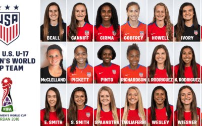 USWNT U-17 World Cup Roster