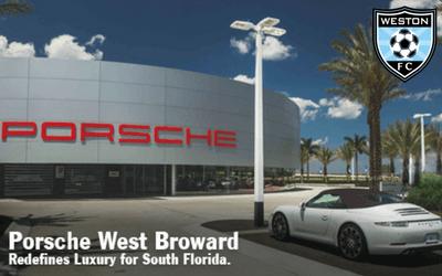 Porsche West Broward Joins Weston FC